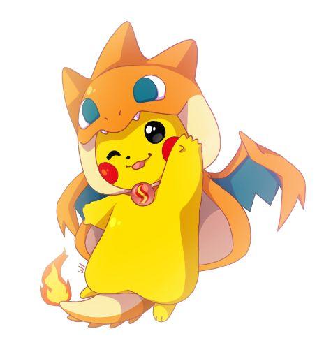 Pikachu mega charizard y pokemon pinterest pikachu - Images de pikachu ...