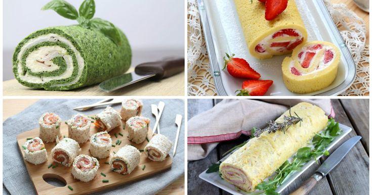 10 rotoli originali dolci e salati