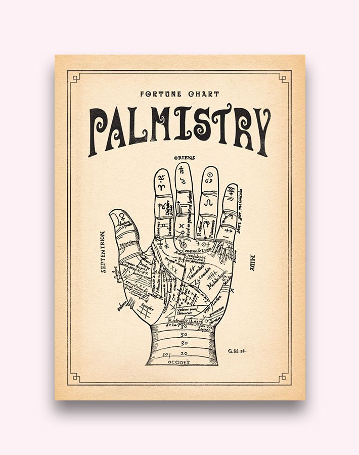 Palmistry - earthbound trading company