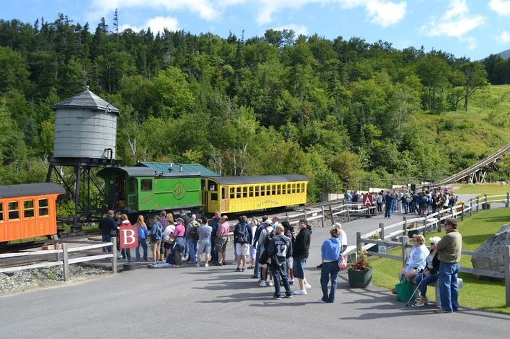 Железная Дорога на Гору Вашингтон, Нью-Гэмпшир (Mount Washington Cog Railway, NH)