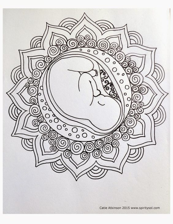 I Working On A Pack Of Coloring Pages And Thought Share Few Them Here Always Found To Be Very Calming Meditati