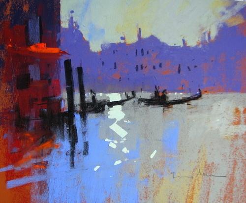 Silver Light, Venice by Tony Allain