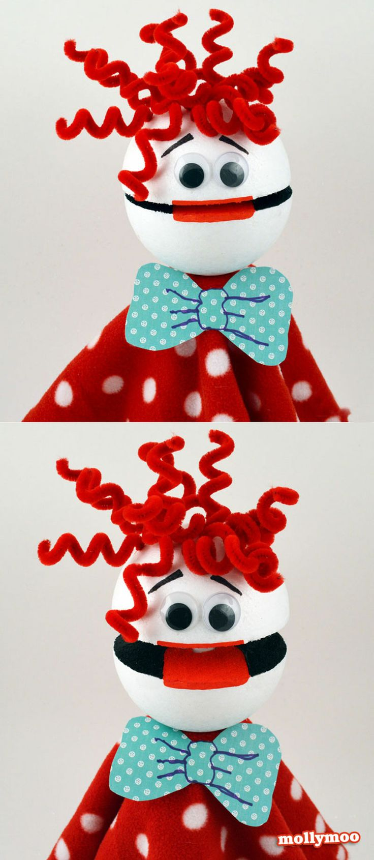How to Make Talking Puppets  | MollyMoo #nosew #craftsforkids #kidscrafts