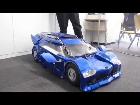 Dope Japanese Inventors Create Real Life Transformer ! - TopBuzz