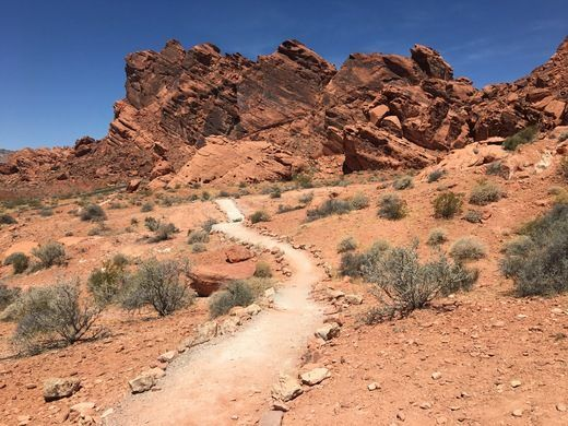 Valley of Fire – Clark County, Nevada - Atlas Obscura