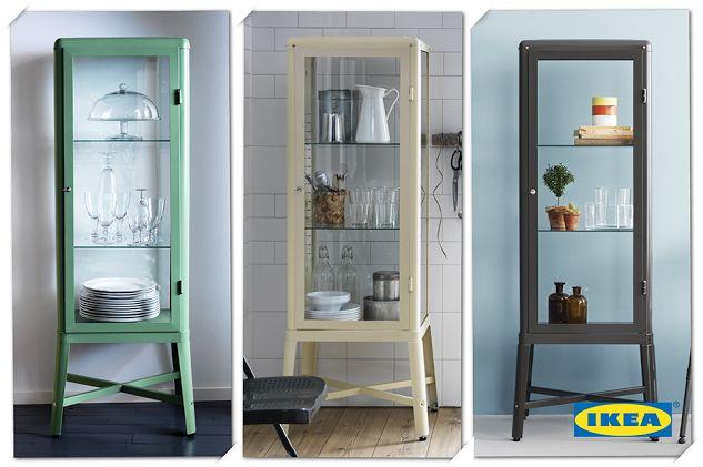 IKEA Nederland - Google+ - De FABRIKÖR vitrinekast is zo mooi dat hij eigenlijk zelf…