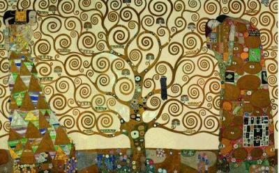 Gustav Klimt-  the tree of life