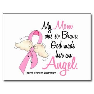 Breastcancer-Mom Quotes   Mom Angel Breast Cancer...   my ...