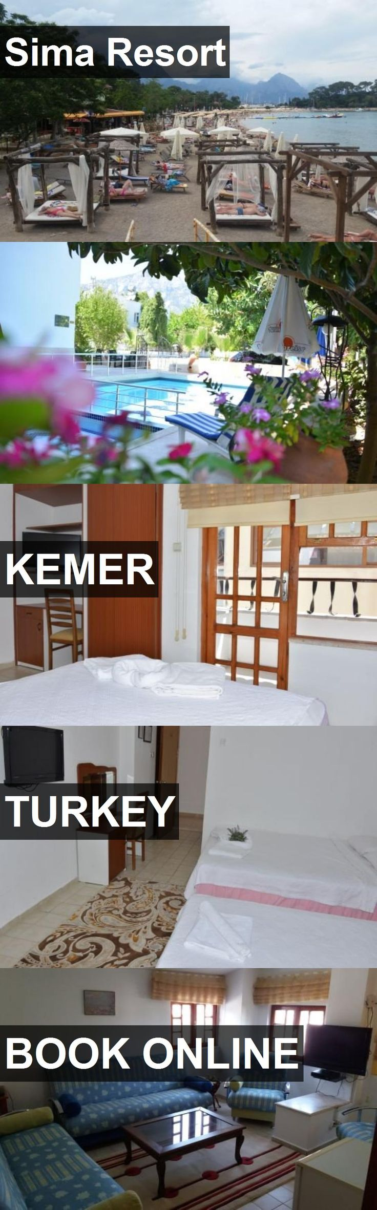 Hotel Sima Resort in Kemer, Turkey. For more information, photos, reviews and best prices please follow the link. #Turkey #Kemer #travel #vacation #hotel