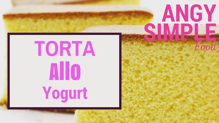 Torta allo yogurt con FROSTING. Ricetta sul canale YouTube ANGY SIMPLE food