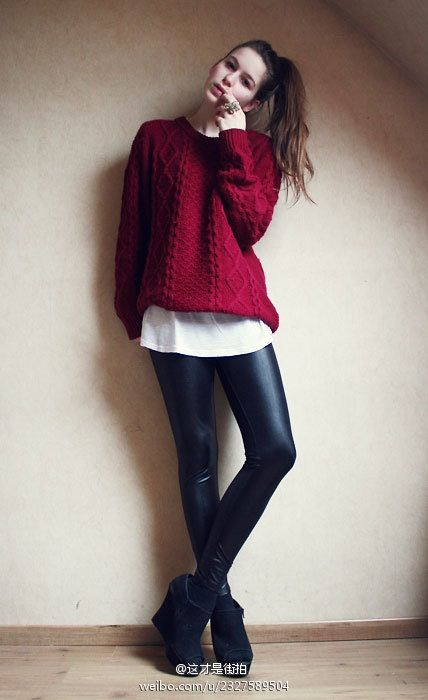 56 best Red sweater images on Pinterest | Red, My style and Red ...