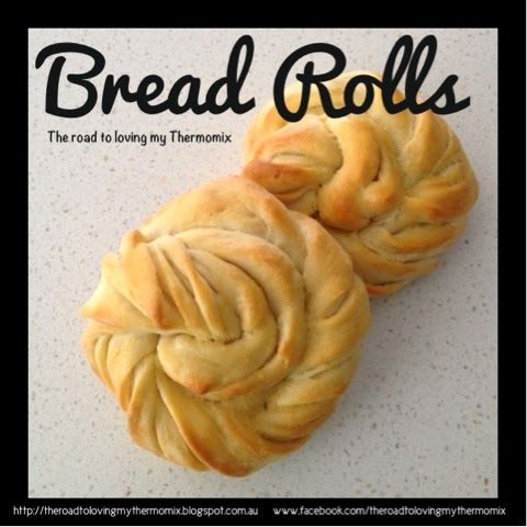 The road to loving my Thermomix: Bread Rolls