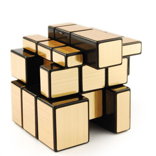 US New Year Shengshou Golden Mirror 3X3 Speed Cube Magic Puzzle Black Toys Xmas in eBay Motors, Parts & Accessories, Other   eBay