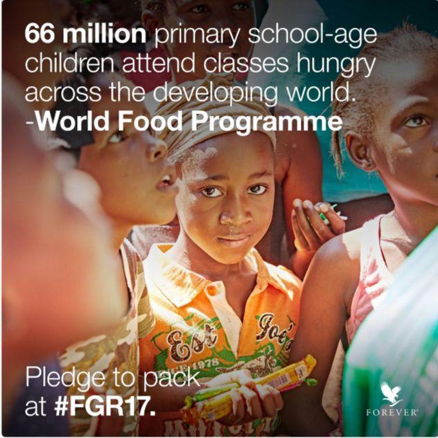 Rise Against Hunger! #forevergiving #fgr17