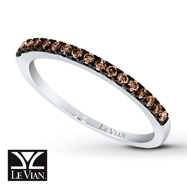 Kay Chocolate Diamonds 174 Ring 1 4 Ct Tw Round Cut 14k
