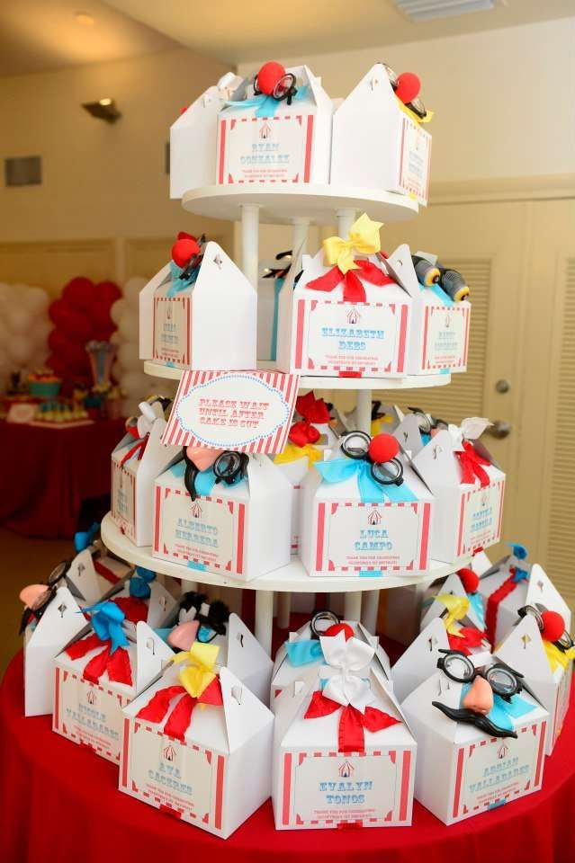 Circus/Carnival Birthday Party Ideas | Photo 20 of 71 | Catch My Party