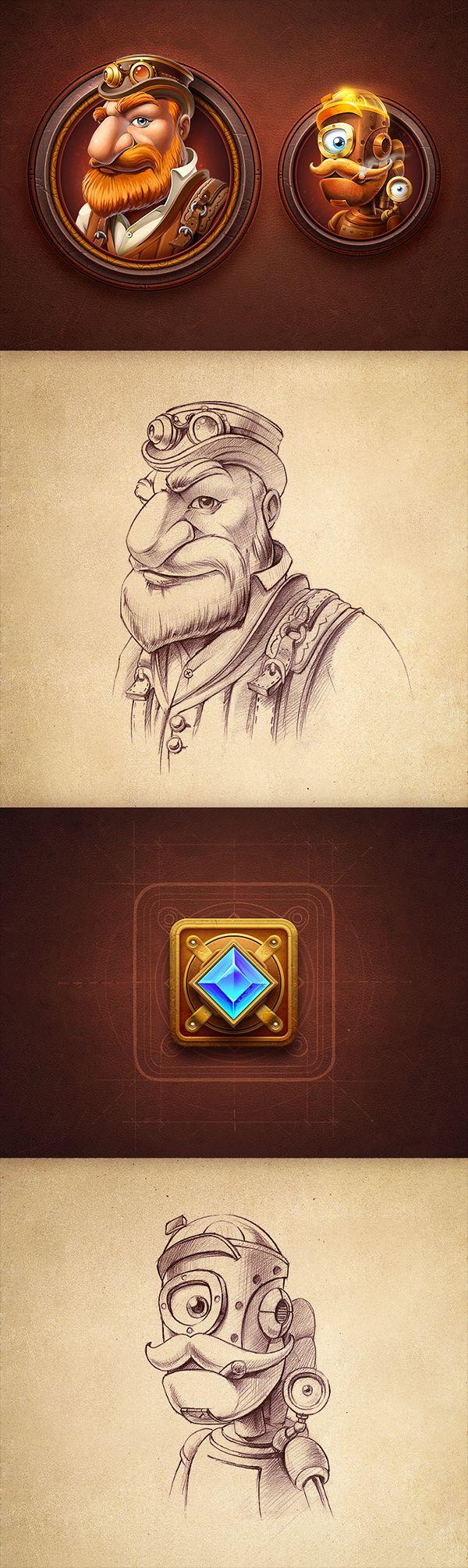 https://www.behance.net/gallery/20559077/Character-design?utm_medium=email