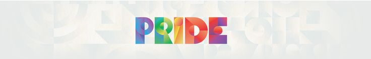 Pride logo in itunes. Art Deco mixed with modern color pallette