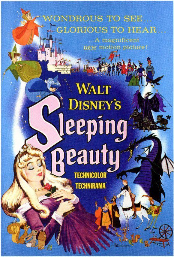 Sleeping Beauty movie poster. Favorite! :): Movie Posters, Film, Sleeping Beauty, Disney Movies, Walt Disney, Favorite Movie, Disney Poster, Sleepingbeauty
