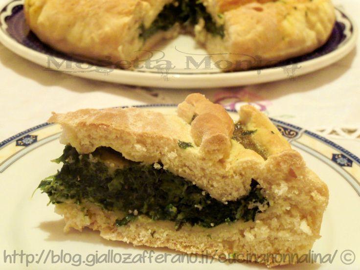 Torta rustica con spinaci ricetta base senza latte ne derivati