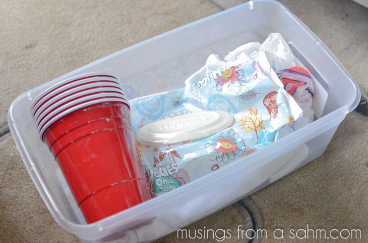 Car Organization: How I Organized Our Mini Van - Musings From a Stay At Home Mom