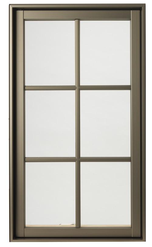 Hurd H3 Window In Anodized Bronze Color Hurd Windows