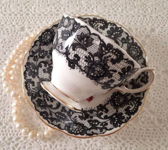 Very Rare Señorita Royal Albert China Tea Cup by TheEclecticAvenue