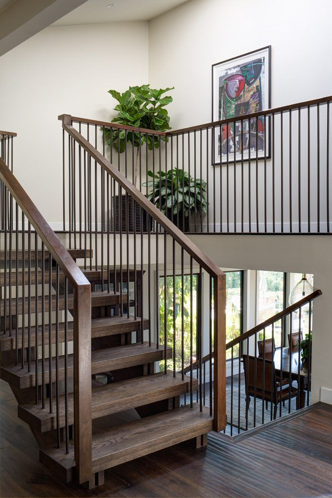 Best 11 Modern Stair Railing Designs That Are Perfect With 400 x 300