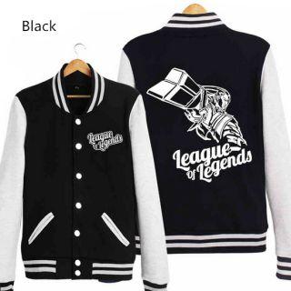League of Legends camisola jaquetas de baseball XXXL Lucian para homens