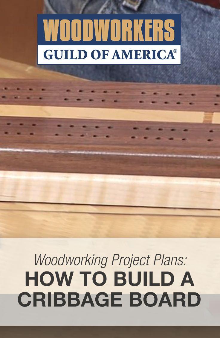 cribbage board plans