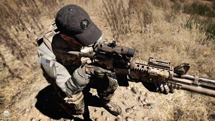 "Arma 3 - Promotional image from upcoming addon ""SMU - The Operators"" by Braveblades #Arma #Arma3 #VRBP #Military #Operators #SOF #SF #Graphics"