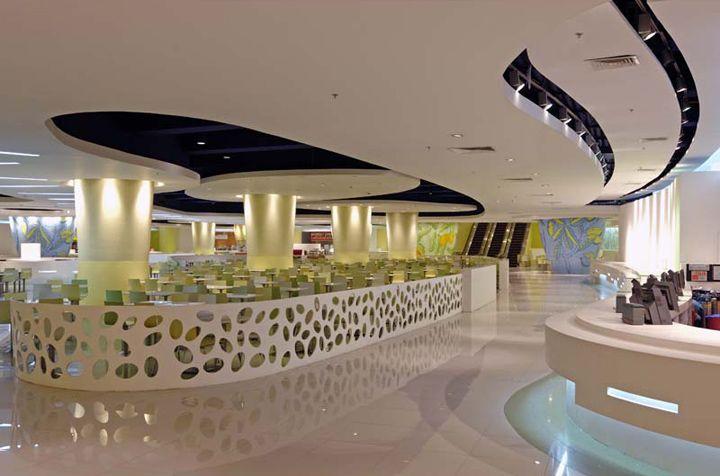 Food Courts Landmark Supermarket By Hugh A Boyd Architects Manila Philippines Hotels