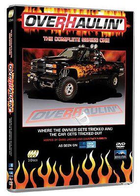 OverHaulin Complete Series 1 NEW PAL Cult 3-DVD Set Chris Jacobs Courtney Hansen