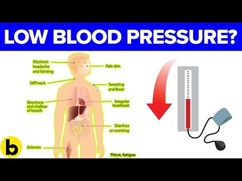 how to get your blood pressure down before a test