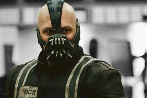 TDKR: Tom Hardy as Bane