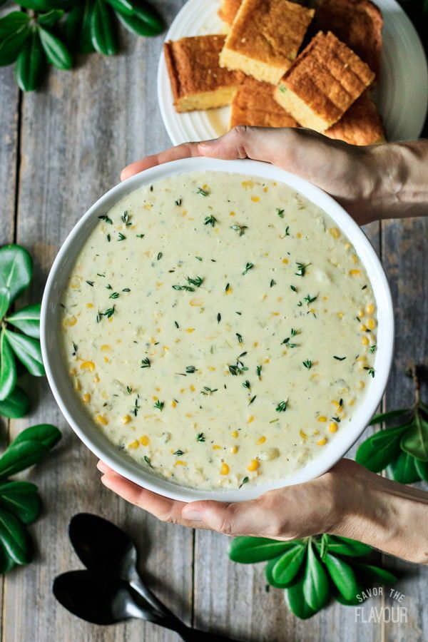 Sweet Corn Chowder Recipe Chowder Corn Chowder Corn Recipes