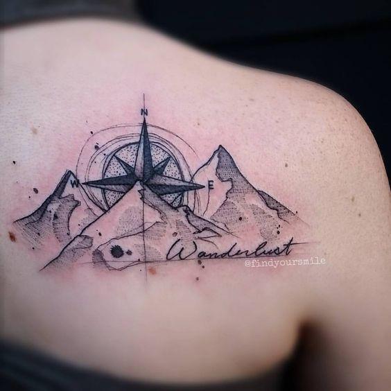 20+ Wanderlust Tattoo Ideas 2016 14