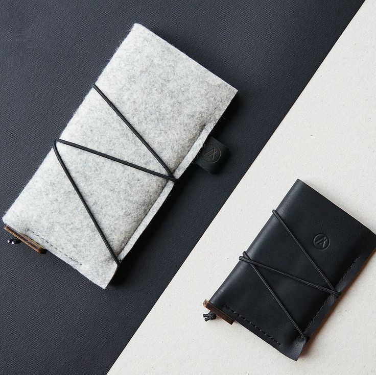 The new, highly functional KORD iPhone case and slim card wallet | premium Italian leather & 100% natural wool felt