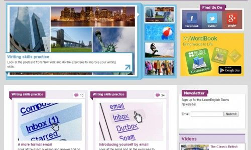 20 útiles webs para aprender inglés en Secundaria