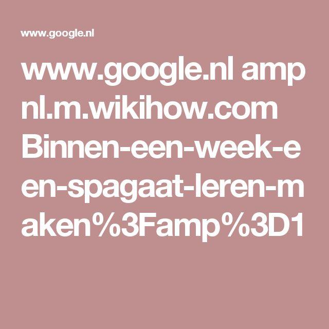 www.google.nl amp nl.m.wikihow.com Binnen-een-week-een-spagaat-leren-maken%3Famp%3D1