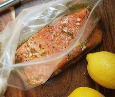 BEST Salmon Marinade I've ever used ** So simple & flavorful