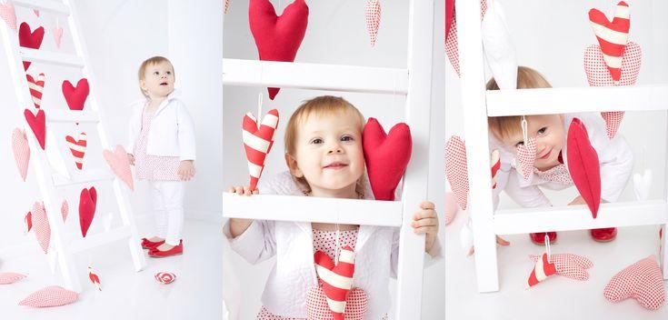 Valentine #girl #baby #red #love #heart  www.mamochotena.pl