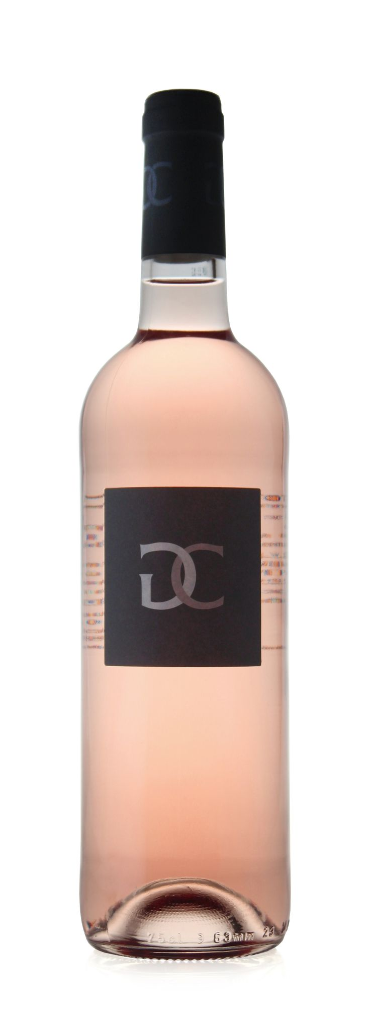 New packaging for Domaine du Grand Cros rosé launched feb 2014.