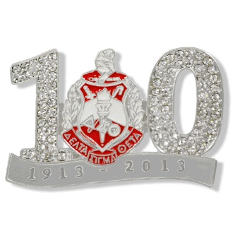 Centennial Crest Lapel for Delta Sigma Theta