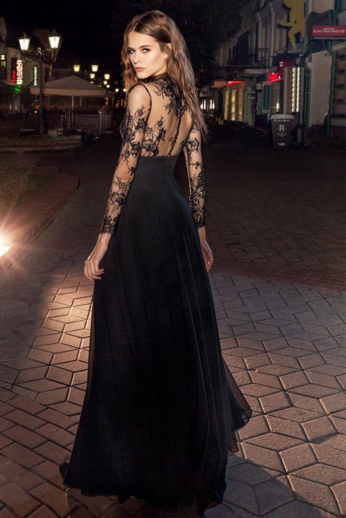 012052f4ce Style  211b from the Papilio Nightglow Collection is a long sleeve maxi  dress features high neckline