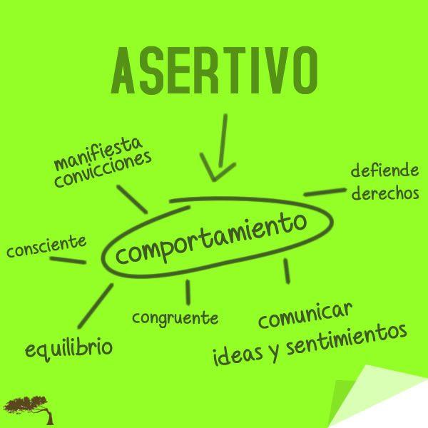 La asertividad es un comportamiento de líderes.