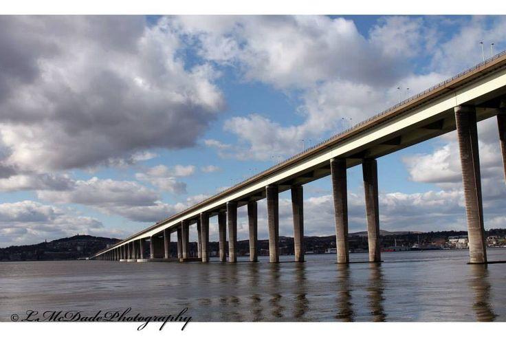 Tay road bridge- fife to Dundee