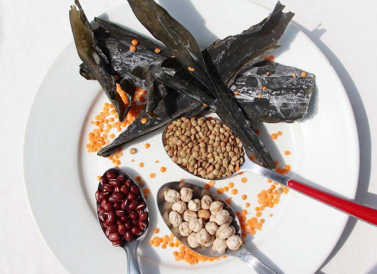 Accélérer la cuisson des légumineuses grâce à l'algue kombu