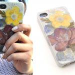 Cómo hacer una carcasa de móvil personalizada con flores secas