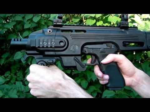 Glock Carbine Conversion Kit | CAA RONI Glock Pistol-Carbine Conversion (Airsoft) (G23) | How To Save ...